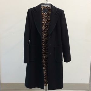 Banana Republic Sz S wool tea length coat